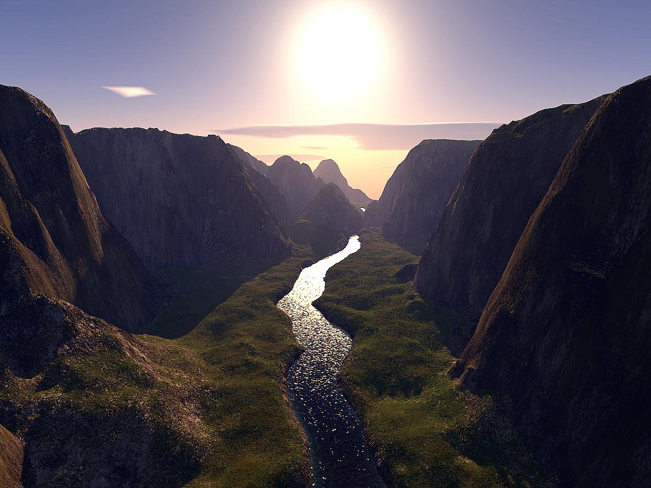 الاســـم:riverandsun.jpg المشاهدات: 205 الحجـــم:461.2 كيلوبايت